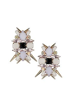 Topshop  Premium Flower Spike Earrings