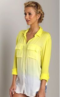 Bella Dahl  Patch Pocket Button Down Shirt