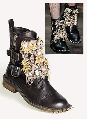 How To Make Incredible $8,000 Embellished Boots For Only $50
