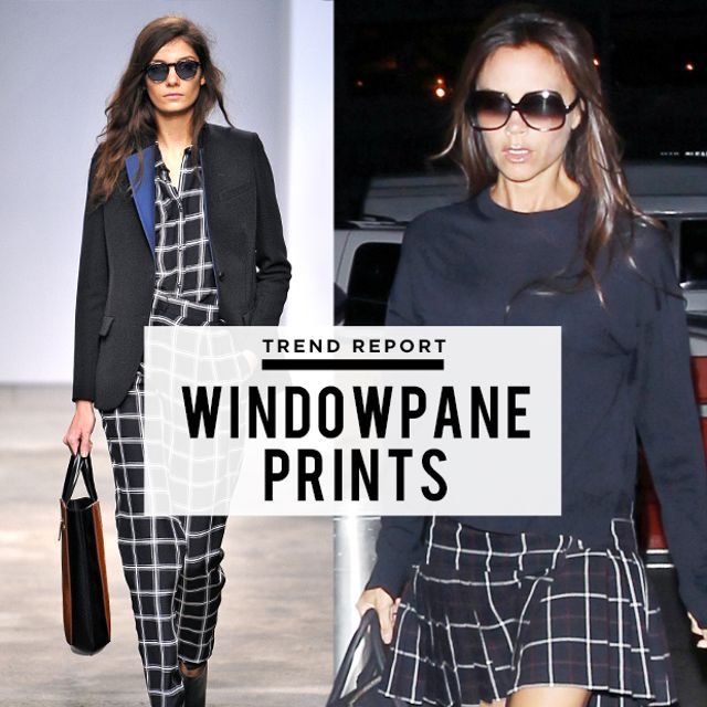 Check Mate! The Windowpane Prints We Love For Fall
