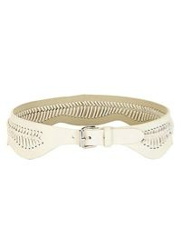 BCBGMaxazria Whip-Stitch Waist Belt