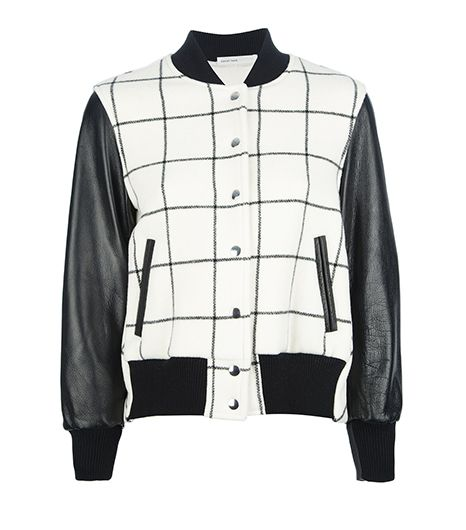 Sacai Luck  Check Bomber Jacket