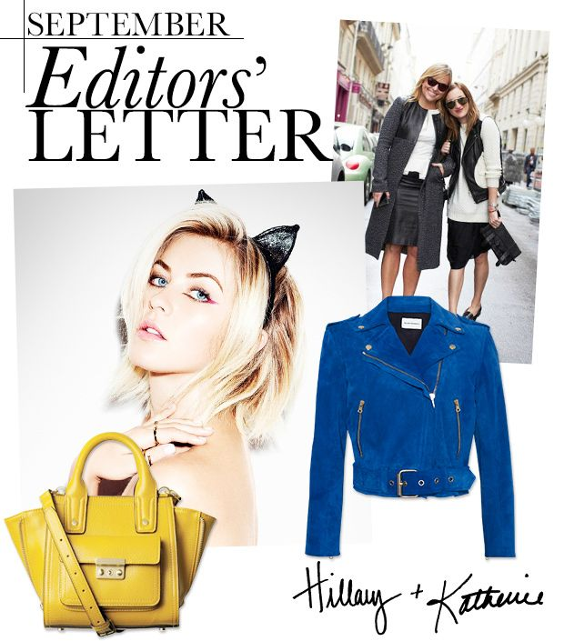 Hillary & Katherine's Favourite Things For September
