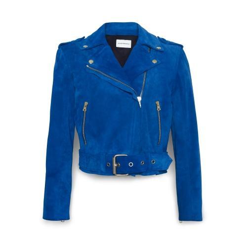 Club Monaco  Ela Suede Moto Jacket
