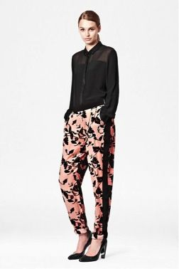 French Connection  French Connection Vine Bloom Trousers