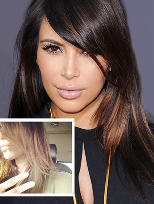 Kim Kardashian's Colorist On Her New 'Do