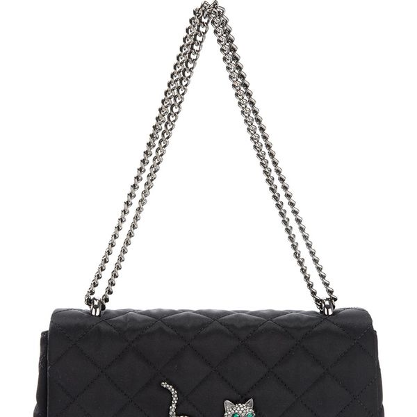 Moschino Cheap & Chic  Quilted Cat Bag