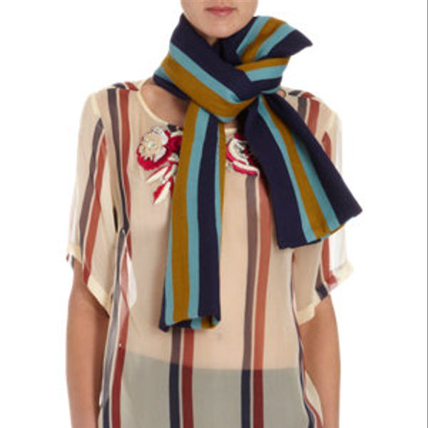 Dries Van Noten  Varisty Stripe Scarf