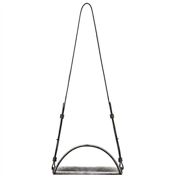 Alexander Wang  Racketeer Sling in Haircalf with Rhodium