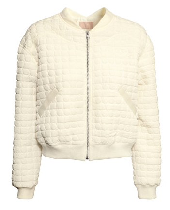 H&M  Quilted Pilot Jacket