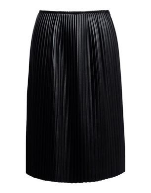 MSGM  Knee Length Leather Skirt