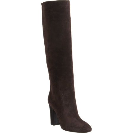 Lanvin  Suede Pull-On Knee Boots