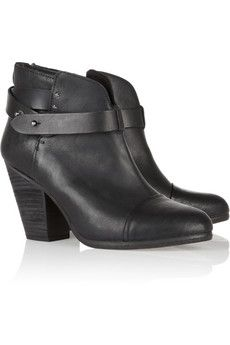 Rag & Bone  Leather Biker Boots