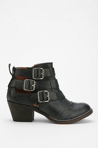 Report  Aydin Triple-Buckle Ankle Boots