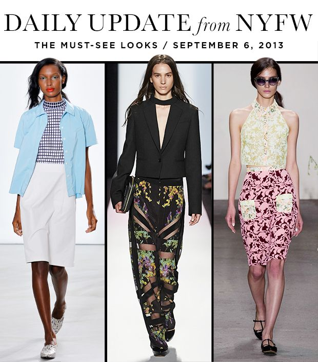The Best Runway Looks From Day One Of New York Fashion Week