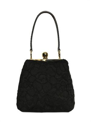 Dolce & Gabbana  Small Lace Agata Bag