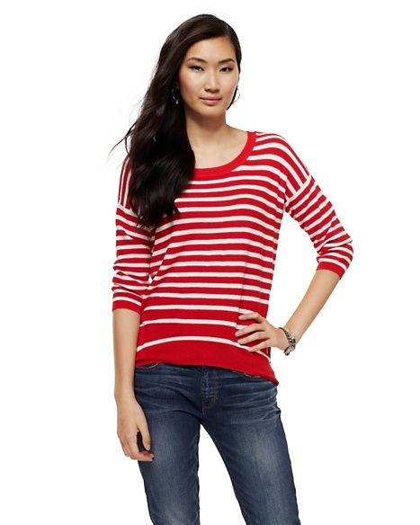 Juicy Couture  Nautical Stripe Sweater