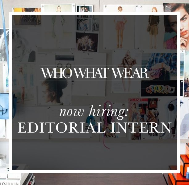 We're Hiring: Editorial Interns