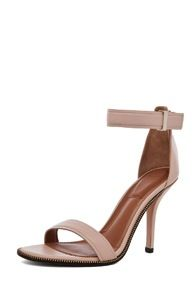 Givenchy  Zip Around Leather Heels