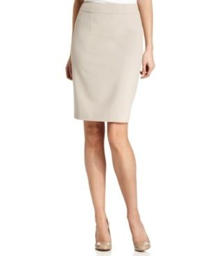 Calvin Klein  Stretch Pencil Skirt
