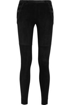 Isabel Marant  Isabel Marant Geeny Stretch-Suede Skinny Pants