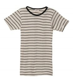 Edith A. Miller Edith A. Miller Striped Short Sleeve Tee