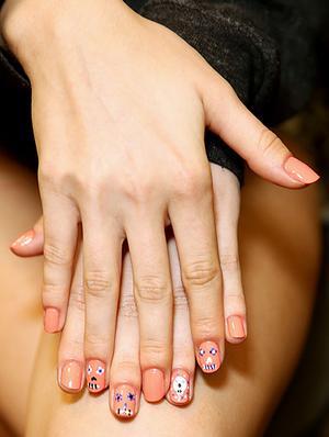 Stayin' Alive: Nail Art at Rebecca Minkoff