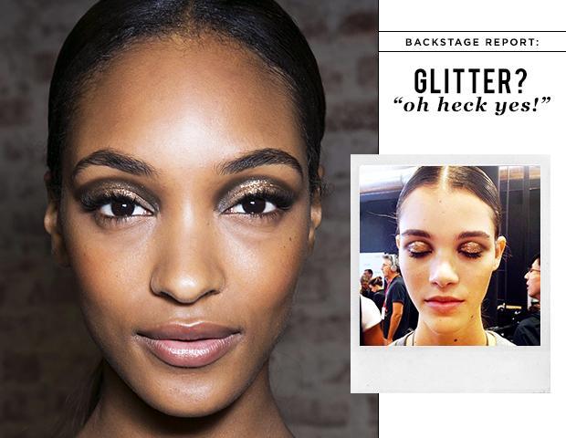 Karlie Kloss, Hilary Rhoda, and More Models Talk Glitter