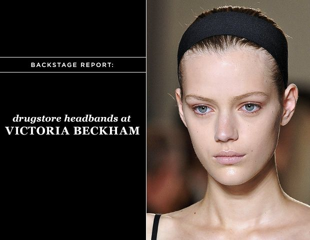 Headbands Crown the Victoria Beckham Show