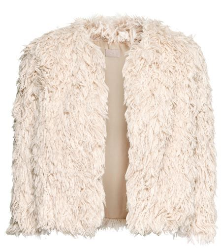 H&M  Faux Fur Cardigan