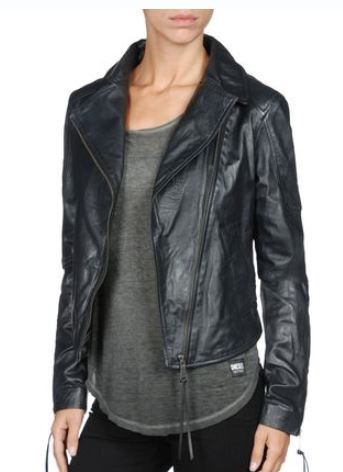 Diesel  Sienna Leather Jacket