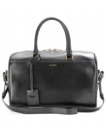 Saint Laurent Duffle 6 Leather Bowling Bag