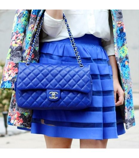 Crazystylelove is wearing: ASOS jacket, ASOS skirt, Chanel bag, J.Crew shirt.
