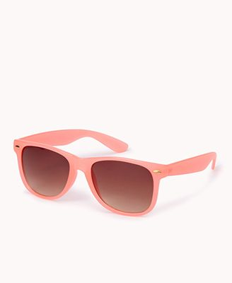 Forever 21 Clear Wayfarer Sunglasses