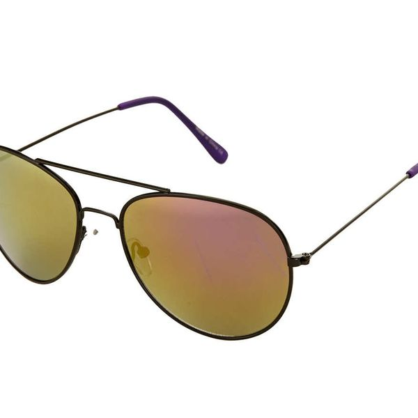 Topshop Aviator Mirrored Lens