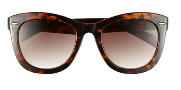 Fantas Eyes Tortoise Shell Cat's Eye Sunglasses