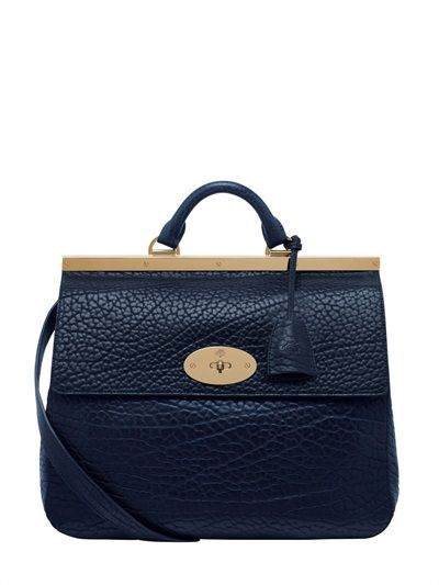 Mulberry  Suffolk Textured Leather Shoulder Bag