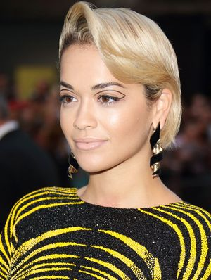 Rita Ora Gets Graphic