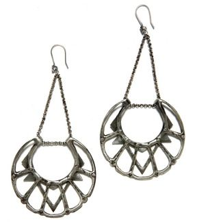 Big Bang  Big Bang Moon Chandelier Earrings