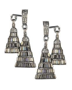 House of Lavande House of Lavande The Annees Folles Collection Josephine Double Earrings