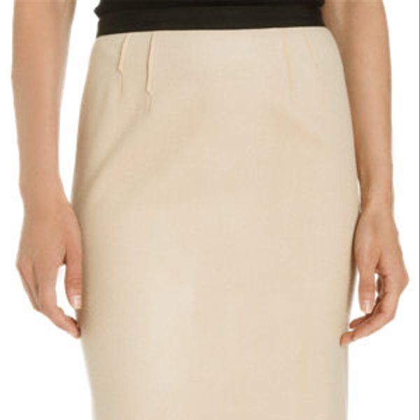 Nina Ricci  Two-Tone Pencil Skirt