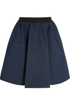 Acne  Romantic Gathered Twill Skirt