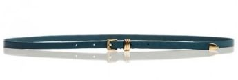 Linea Pelle Linea Pelle Avery Skinny Hip Belt with Metal Tip