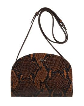 A.P.C.  A.P.C. Demi Lune Bag in Snakeskin