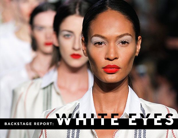 Wear White After Labour Day--On Your Eyes!