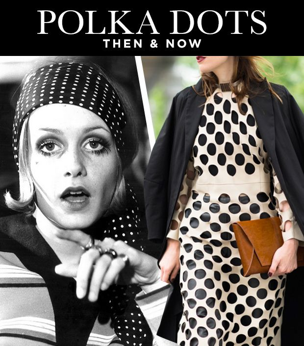 Polka Dots Then & Now: From Twiggy to Ashley Olsen