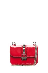 Valentino  Lock Small Flap Bag