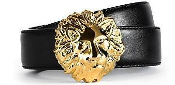 Versus Versace  Versus Versace Lion Buckle Belt