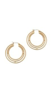 Elizabeth and James Elizabeth and James Berlin Triple Hoop Earrings