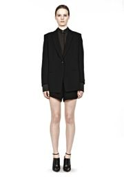 T by Alexander Wang  T by Alexander Wang Crepe Blazer